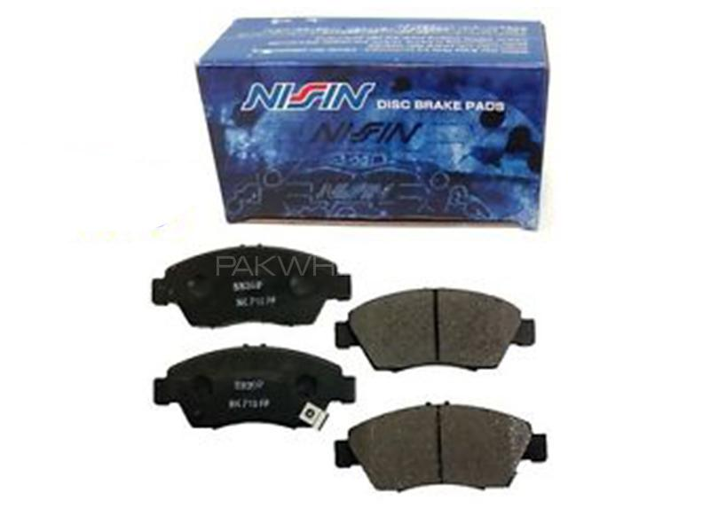 Nissin Rear Brake Pad For Honda Civic 2004-2006 Image-1