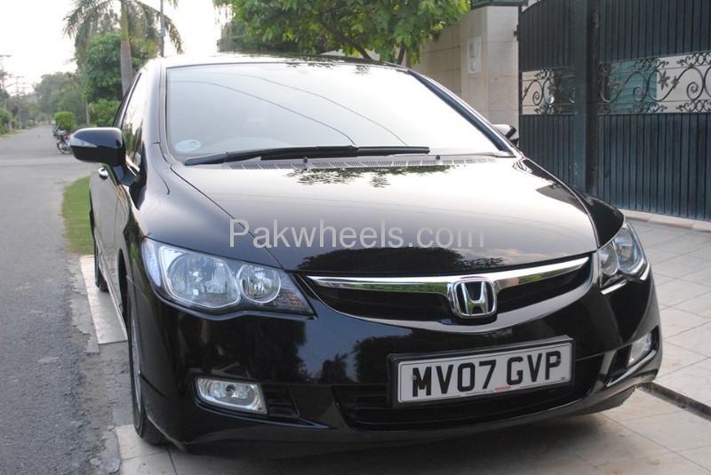 used honda civic hybrid mxst 2007 car for sale in lahore 650673 pakwheels. Black Bedroom Furniture Sets. Home Design Ideas