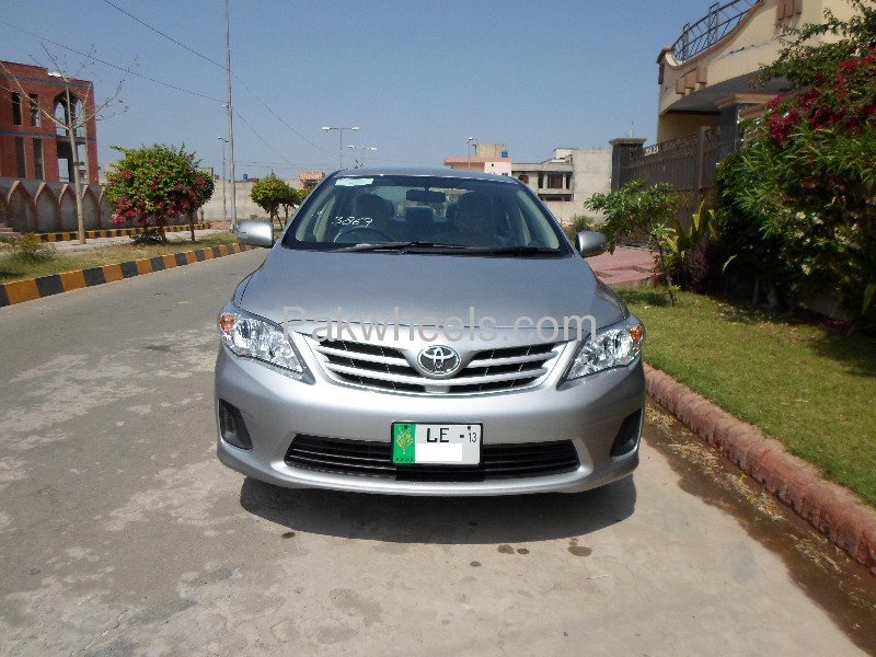 used toyota corolla xli 2012 car for sale in faisalabad 553512 pakwheels. Black Bedroom Furniture Sets. Home Design Ideas