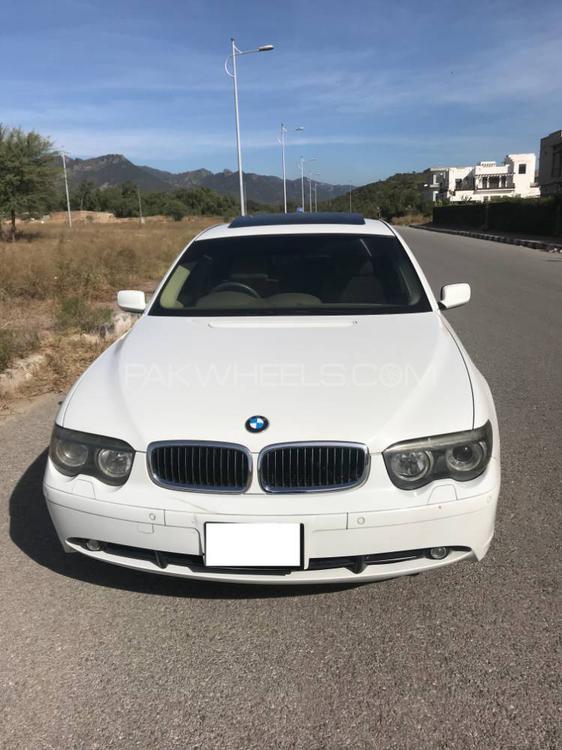 BMW 7 Series 745i 2004 Image-1