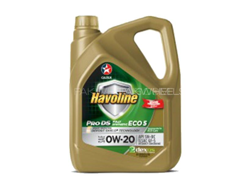 CALTEX Havoline ProDS Fully Synthetic LE SAE (0W-20) 4L  Image-1