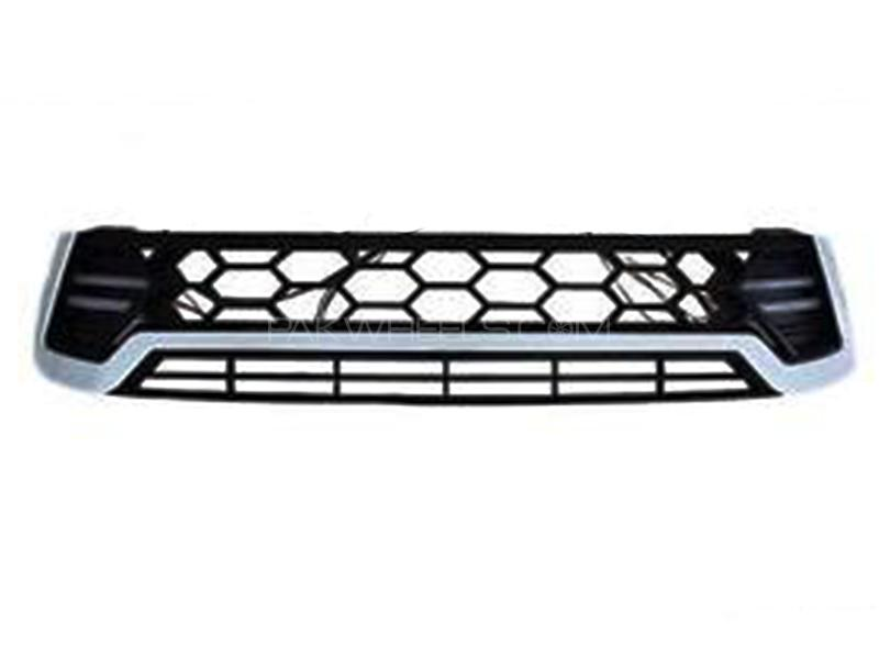 TRD Chrome Grill With LED For Toyota Revo 2016-2019 Image-1
