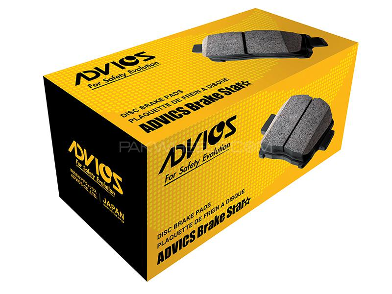Advics Front Brake Pads For Toyota Vitz 1998-2004 - A1N067T Image-1