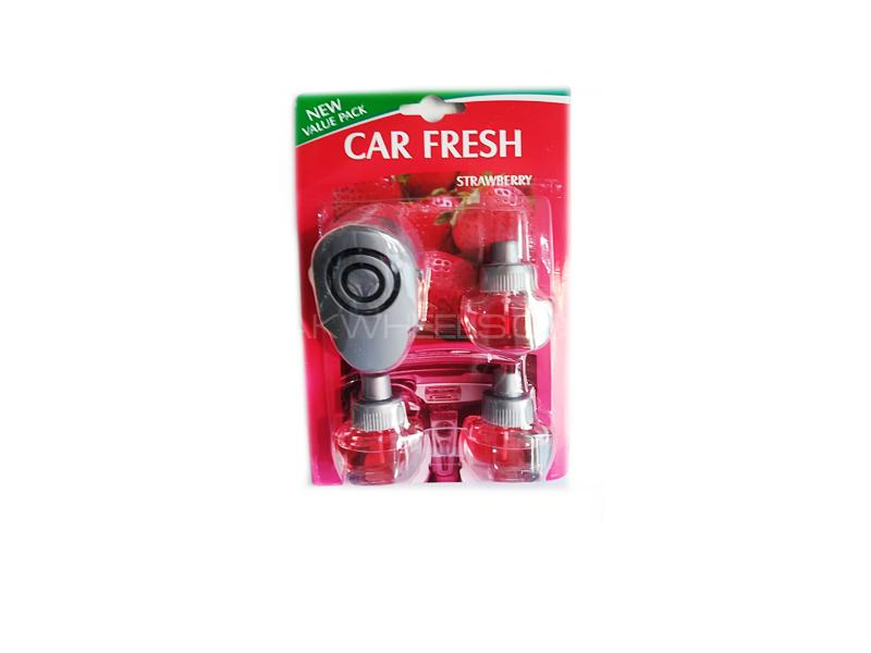Car Fresh Ac Grill Perfume Strawberry Image-1