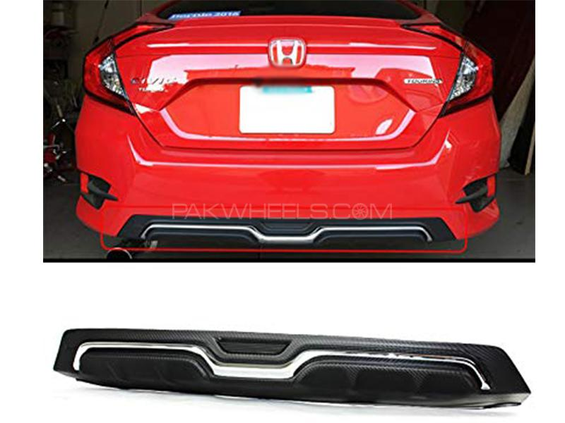 Rear Diffuser Chrome Strip For Honda Civic 2016-2019 in Karachi