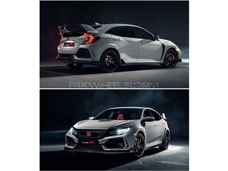 Typr R Body Kit Made in Taiwan Unpainted For Honda Civic 2016-2019 Image-1