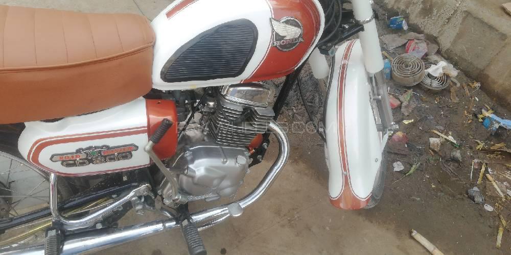 Honda CD 200  1978 Image-1