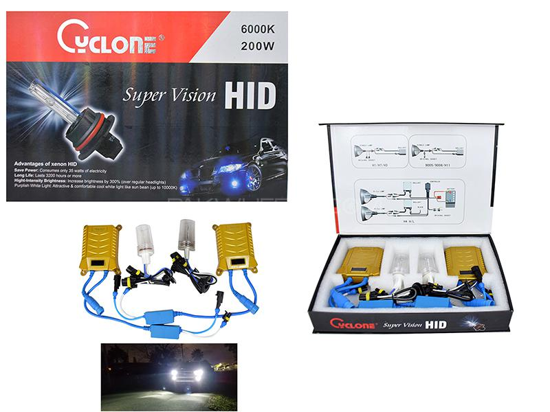 HID -Cyclone 200 W H4 Image-1