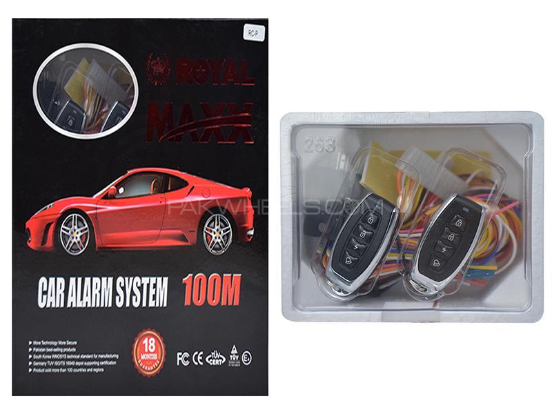 Royal Maxx Car Alarm System - RC-P Image-1