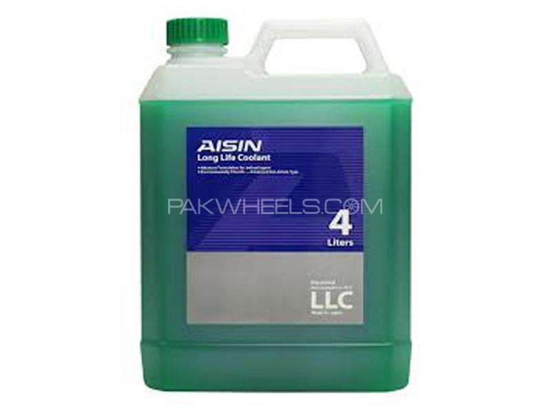Aisin PreMixed Radiator Anti Rust Anti Freeze Coolant Green 4L Image-1