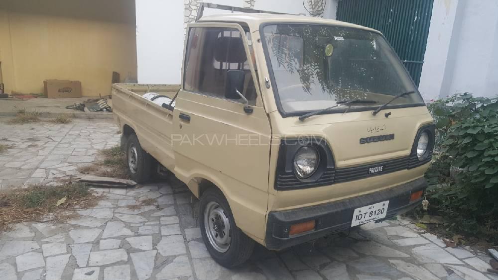 Suzuki Ravi PICKUP STD VX 1986 Image-1