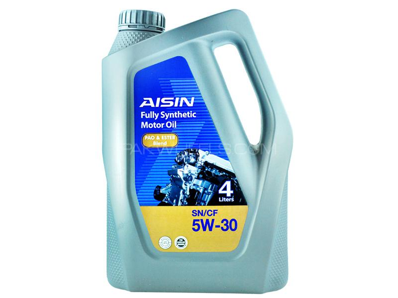 Aisin Fully Synthetic 5W-30 SN - 4 Litre Image-1