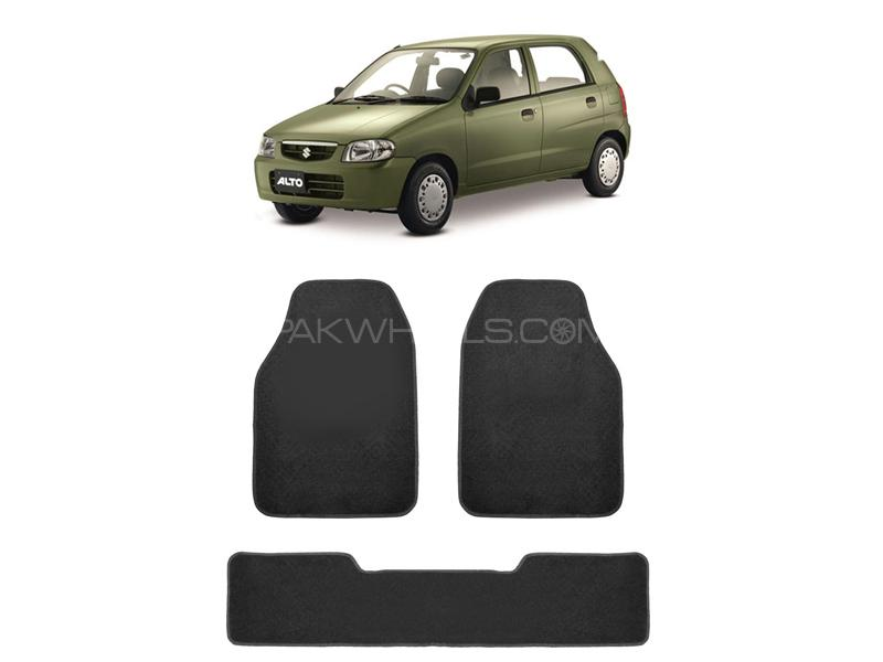 Kenco Carpet Floor Mats For Suzuki Alto Grey 3pcs Image-1