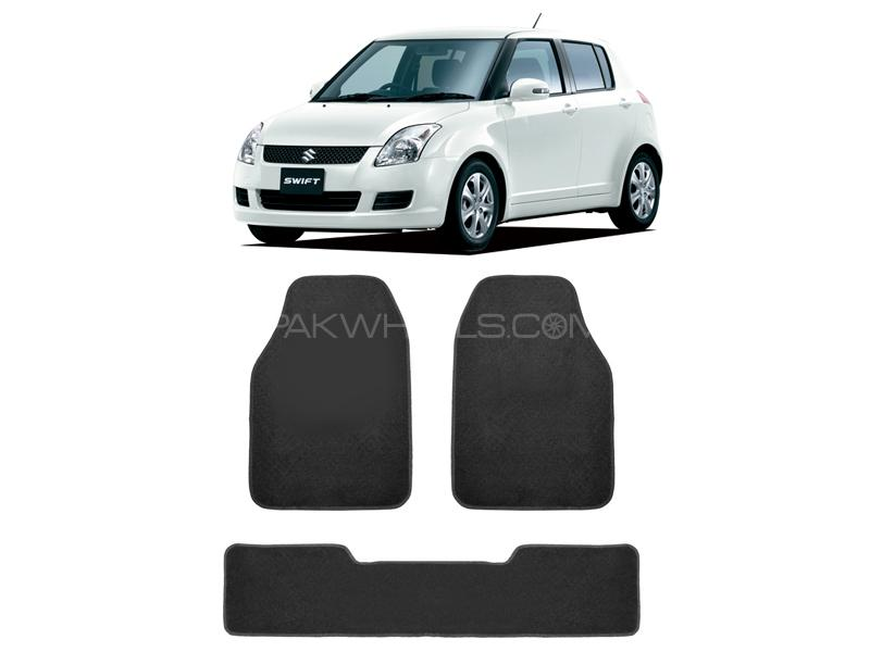 Kenco Carpet Floor Mats For Suzuki Swift Grey 3pcs Image-1