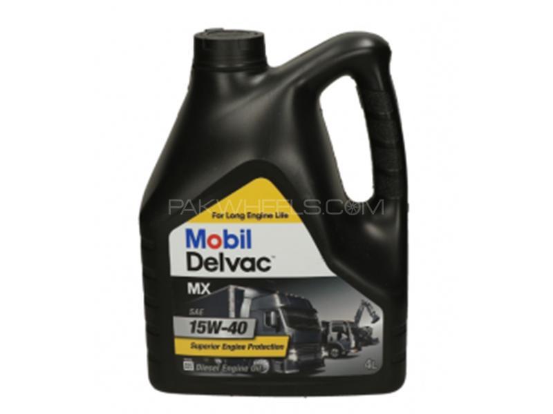 Mobil1 Delvac MX 15W-40 Cl-4/SJ - 4 Litre Image-1
