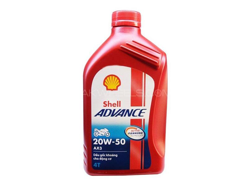 Shell Advance 4T - 700ml Image-1