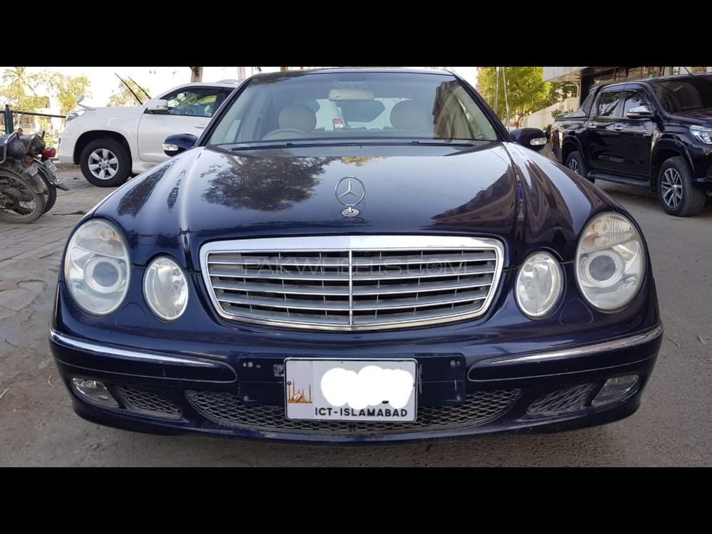 Mercedes Benz E Class E240 2002 Image-1