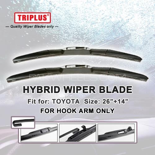 Hybrid Wiper Blade For Toyota Corolla 2007 2017 Windshield Wipers 650mm 350mm