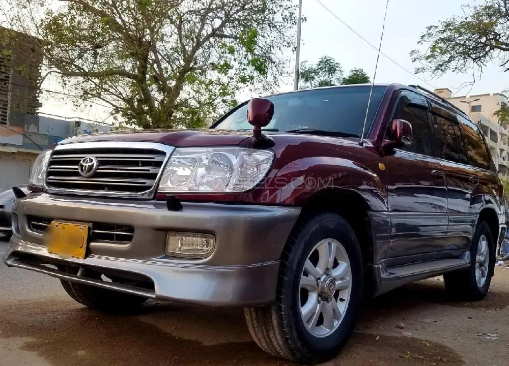 Toyota Land Cruiser Amazon 4.2D 2000 Image-1