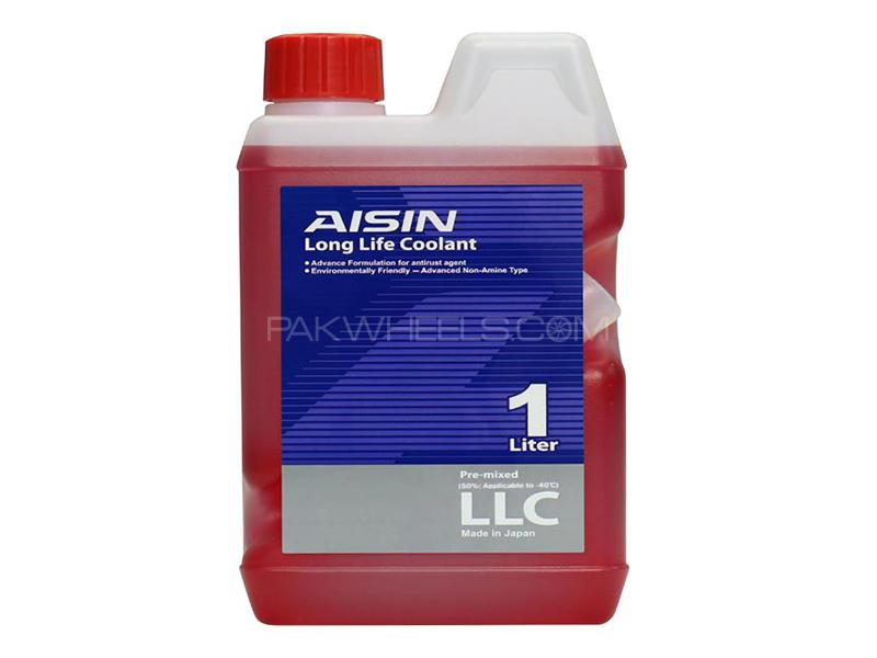 Aisin Long Life Coolant - Red - Made In Japan - 1 Litre Image-1