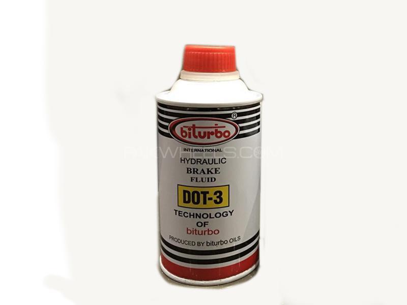 Biturbo Brake Oil Can Dot 3 Large in Lahore