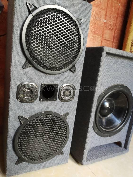 2..10nich speakers and 12 inch full heavy basser and kit Image-1