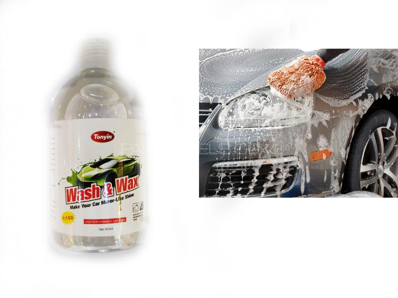 Tonyin Wash & Wax 500ml Image-1