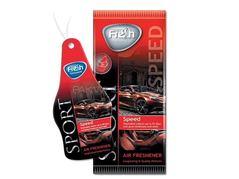 Dry Air Freshener Perfume Card Freshway - Speed Sport  Image-1