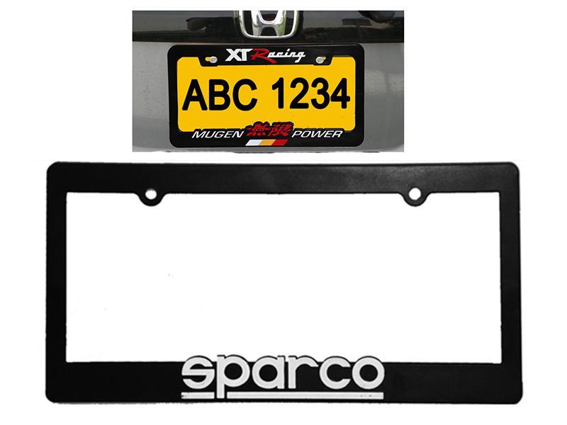 Sparco Number Plate Frame  Image-1
