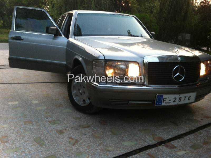 Mercedes benz s class 300se 1990 for sale in islamabad for Mercedes benz 300se for sale