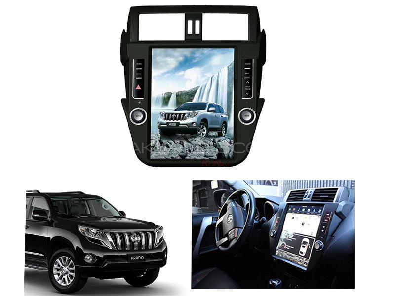 Toyota Prado 2GB/32GB LCD Multimedia System Android GPS Tesla Style 12 Inch - 2013-2015 Image-1