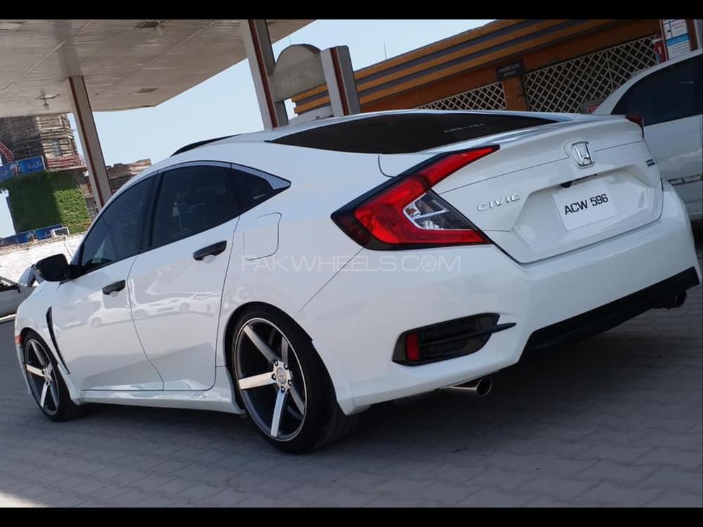 Honda Civic Turbo 1 5 Vtec Cvt 2016