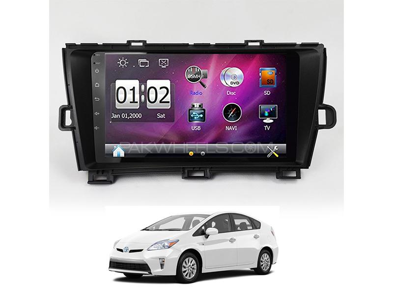 Wellfire Android Player For Toyota Prius 2011-2014 Image-1