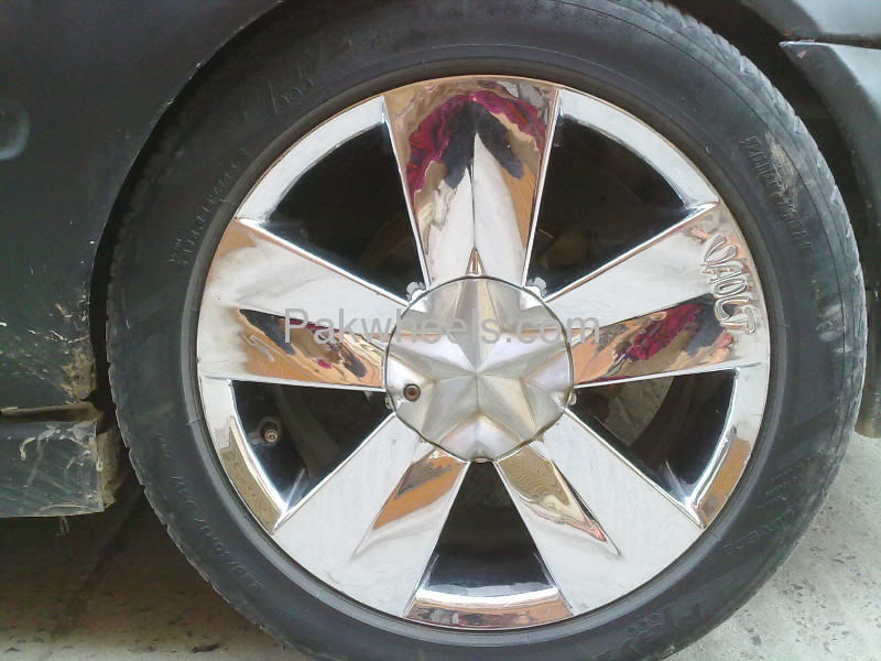 """Apply For Car Loan Online >> 17"""" Imported Chrome Rims With Low Profile Tyres. for sale in Rawalpindi - Car 