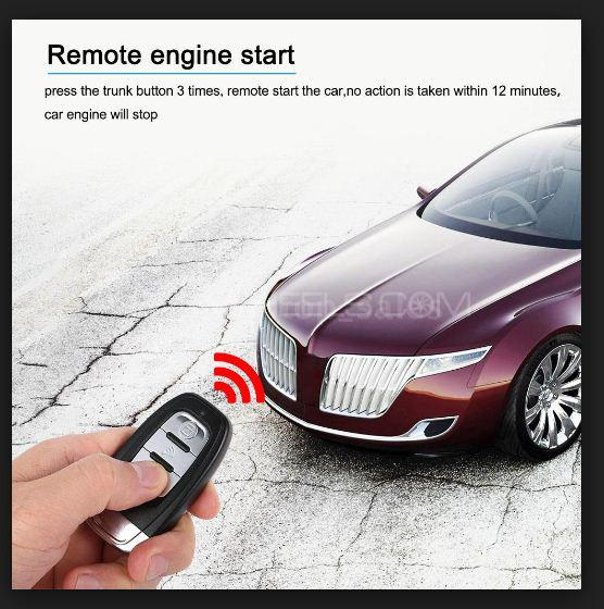 Buy Full Pke Remote Start Auto Lock Unlock Push Start Security