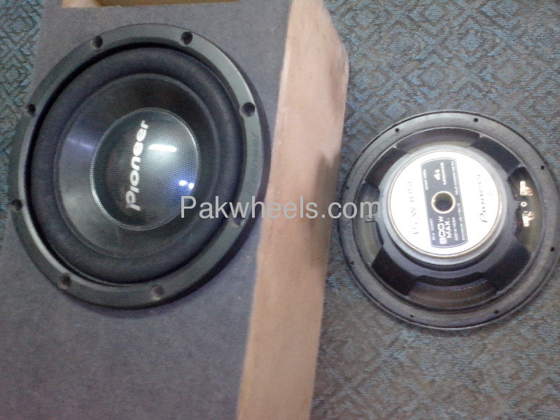 PAIR OF PIONEER TS-W305C FAVOURATE  WOOFER MADE IN MAXICO Image-2