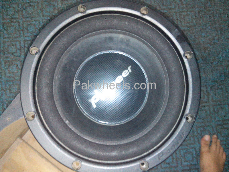 PAIR OF PIONEER TS-W305C FAVOURATE  WOOFER MADE IN MAXICO Image-4