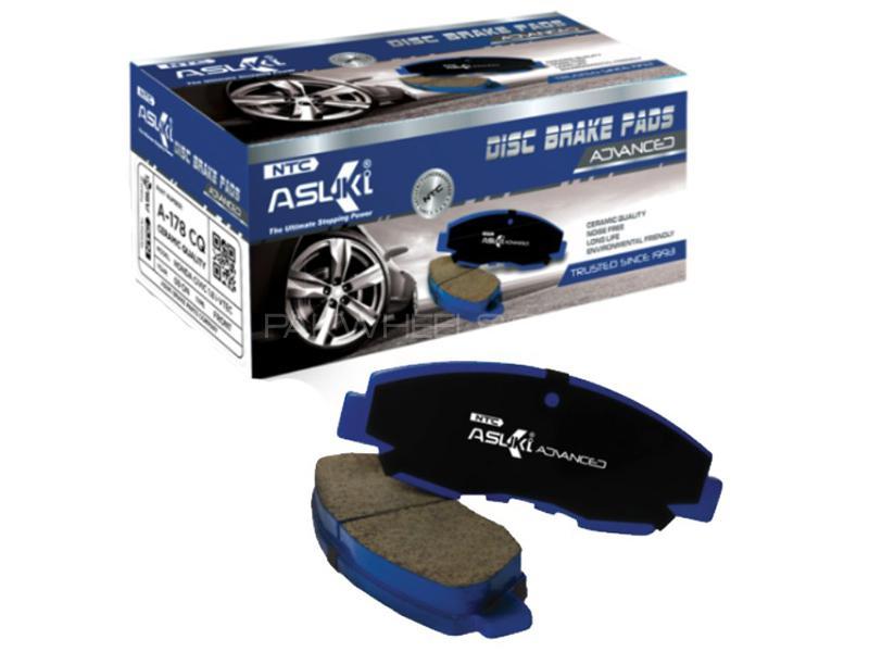 Asuki Advanced Rear Brake Pads For Honda Civic EXi 1992-2015 - A-181 AD Image-1