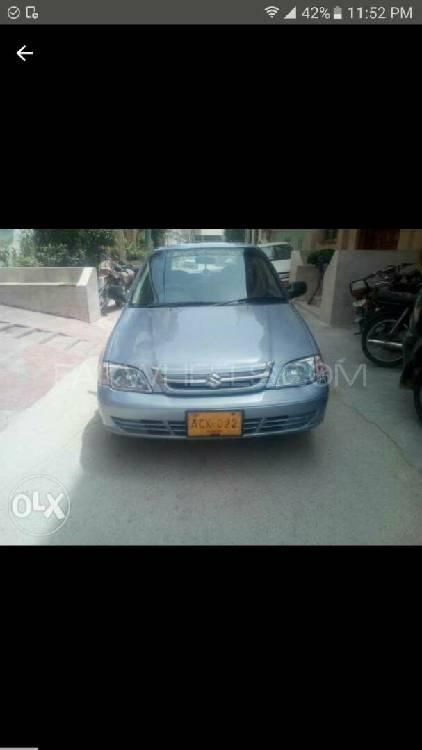 Suzuki Cultus VXL (CNG) 2000 for sale in Karachi | PakWheels