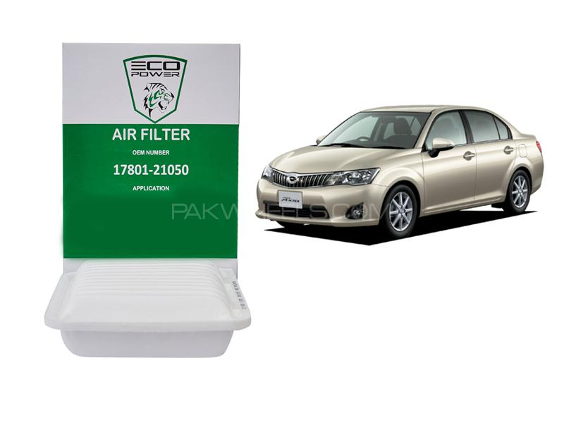 Eco Power Air Filter For Toyota Corolla Axio 2012-2014 in Lahore