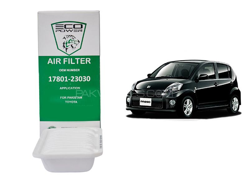 Eco Power Air Filter For Toyota Vitz Passo 2005-2010 in Lahore