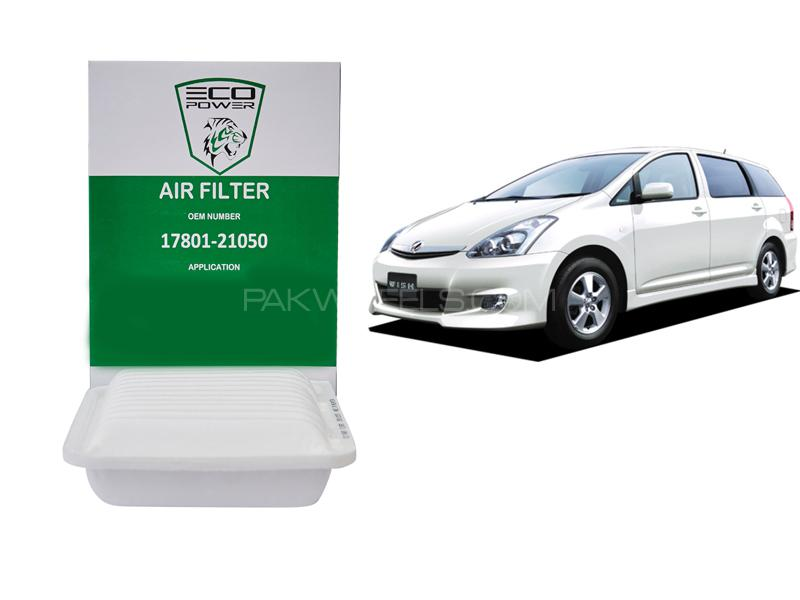 Eco Power Air Filter For Toyota Wish 2003-2009 in Lahore