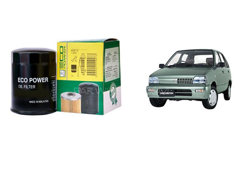 Eco Power Oil Filter For Suzuki Mehran Euro 2 2012-2018 Image-1