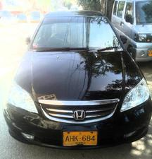 Honda Civic 2005 Cars For Sale In Pakistan Pakwheels