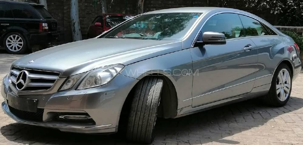 Mercedes Benz E Class Coupe E 250 2011 For Sale In Lahore Pakwheels