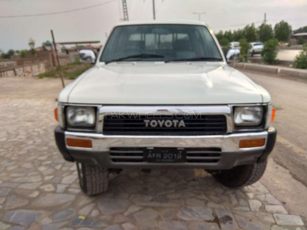 Toyota Hilux Double Cab 1990 Image-1