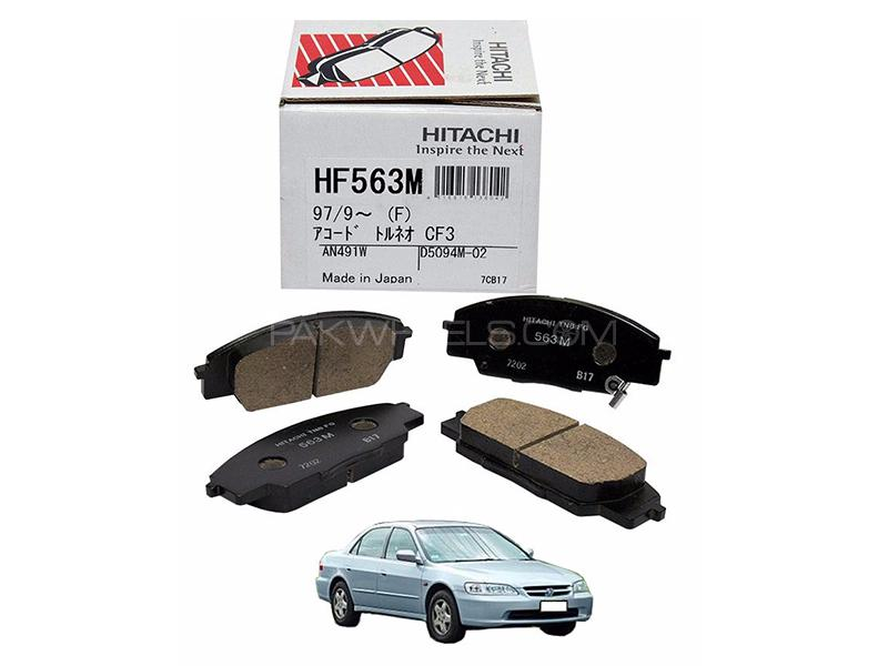 Hitachi Front Brake Pad For Honda Accord CF 1996-2003 - HF563M in Lahore
