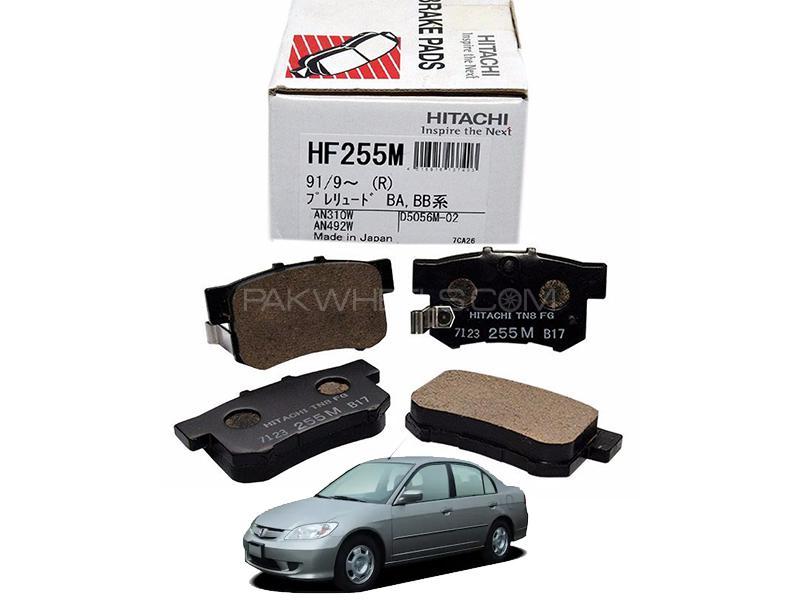 Hitachi Rear Brake Pad For Honda Civic 2004-2006- HF255M Image-1