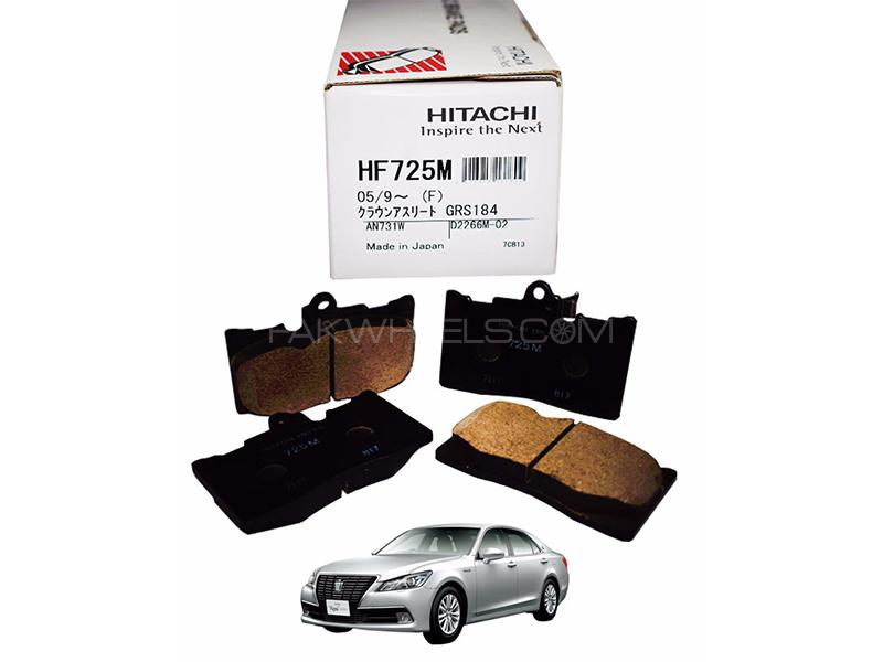 Hitachi Front Brake Pad For Toyota Crown Majesta 2012-2019 - HF725 in Lahore