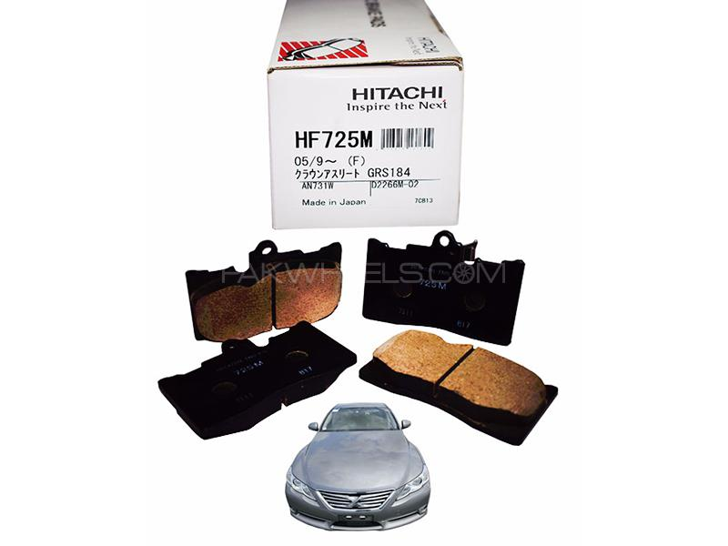 Hitachi Front Brake Pad For Toyota Mark X 2012-2017- HF725 in Lahore